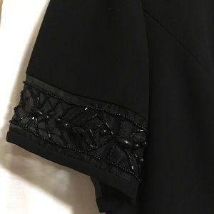 Donna Morgan black crepe dress. Size 6.